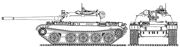 Танк Т-55.