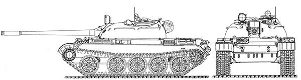 Танк Т-55А.