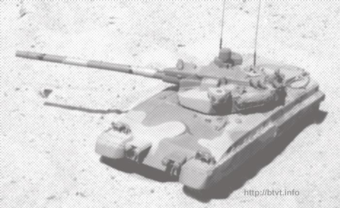 Objet 490A (boxeur).  Poids 46 tonnes.  Le canon de 152 mm à alésage lisse avec chargement sans coquille, la charge de munitions dans le MZ est de 32 coups, le total est de 40. La pénétration du BPS est de 700 mm, le KS de 1100 et le TUR de 1200 mm.