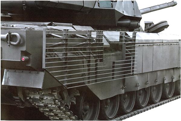 «Армата» оснащена 12-цилиндровым четырёхтактным Х-образным дизельным двигателем с турбонаддувом 2В-12-3А. Механизм поворота с ГОП