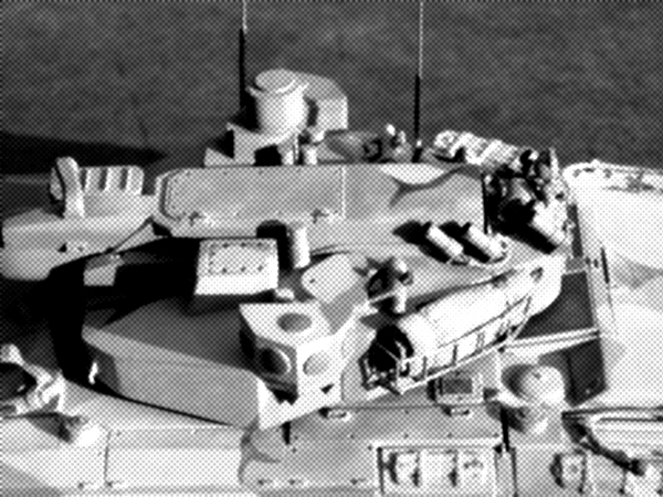 "Active protection - the installation options ""Arena"", ""Dozd"" [Rain], ""Standart"" were considered.  APS provided protection against ATGM, RPG, artillery shells [HEAT], APSDS and submunitions (attack from above).  Protective shots were placed around the perimeter of the tank hull.  Radar - on the sides of the turret."